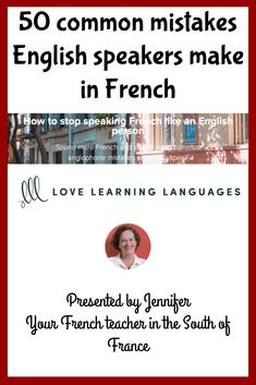Level - How to stop speaking French like an English person Learn French Online, French Teacher, How To Speak French, South Of France, The Only Way, Online Courses, Sentences, Knowing You, Tired