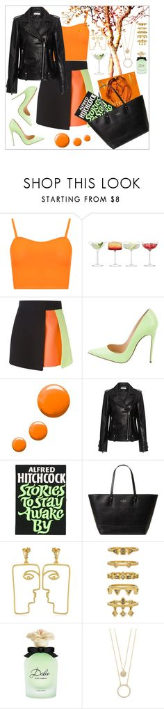 """Quiet Mind"" by alinabathory ❤ liked on Polyvore featuring WearAll, LSA International, FAUSTO PUGLISI, Christian Louboutin, Topshop, IRO, Olympia Le-Tan, Kate Spade, Nina Kastens and Luv Aj"