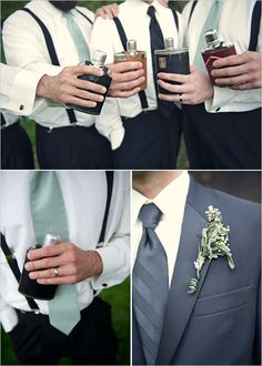i love this look. Different colors, but i totally see the groomsmen at my wedding...JUST like this :)