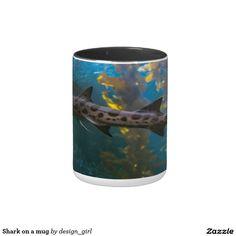 Shark on a mug