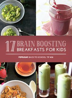 Start Their Day With a Brain-Boosting Breakfast