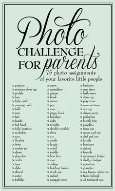 4. #Jamie Moore #Photo défi pour les Parents - #Prêts, cliquez ! 37…