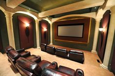 Home Theater Room Decorating Ideas   Interior Home Design Details :  Http://www