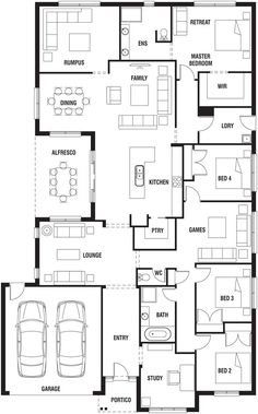 coral homes :: daydream 32 | dream home floor plans | pinterest