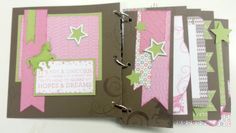 Terry Ann Diack -Just a TAD Crafty: tip, emboss page elements for a different look