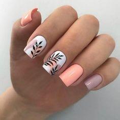 Cute Gel Nails, Chic Nails, Classy Nails, Stylish Nails, Trendy Nails, Swag Nails, Nagellack Design, Nagellack Trends, Acrylic Nails Coffin Short