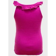 http://intueri-e-commerce-s-l_4890924.solostocks.com/catalogo Hecho de un algodón elástico acanalado Escote con volantes Color: Magenta 100% algodón