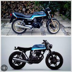 77C scrambler - Honda CB400 | 77C Kustom Culture community
