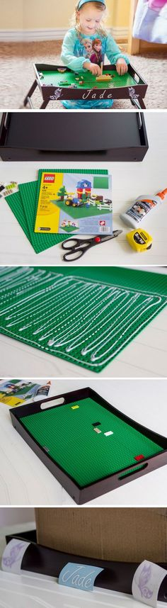 Lego Tray Play Station D