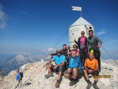 Túrák Szlovéniában. Gyalogtúra a Triglav 2864 m magas csúcsára.