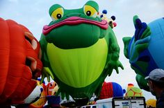 Hopper T Frog at the Albuquerque International Balloon Fiesta