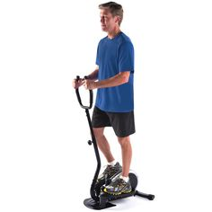 Compact Elliptical Trainer for Winter Indoor Exercising http://coolpile.com/health-fitness/compact-elliptical-trainer-winter-indoor-exercising/ via CoolPile.com - $169 -      Fitness, Gifts For Her, Gifts For Him, Hammacher.com, Indoor Exercising, Winter