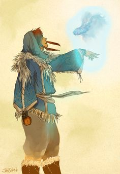 Traditional Korra by jasjuliet.deviantart.com on @deviantART
