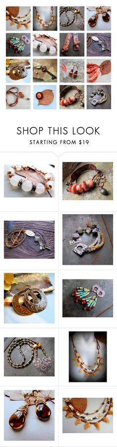 """ChiliroseCreative - Handmade Jewelry & Art Boho Gypsy Hippie"" by chilirose-creative ❤ liked on Polyvore"