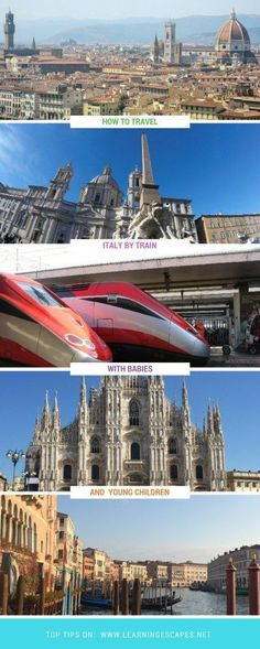 Family guide to travelling Italy by train with babies and young children. Find out what you need to know before taking the train in Italy: what to expect, how it works, what family facilities are available for those who want to travel Italy by train with babies or young children
