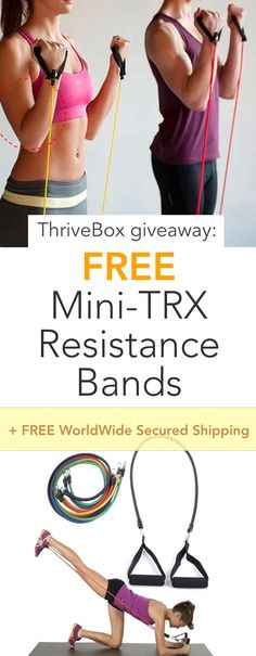 Claim your FREE Mini-TRX Resistance Bands