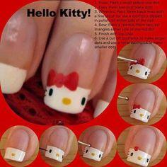 Uñas Hello Kitty                                                                                                                                                                                 Más
