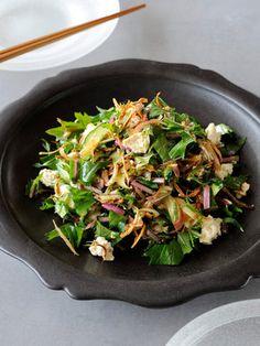 【ELLE a table】ごぼうと豆腐のサラダレシピ|エル・オンライン