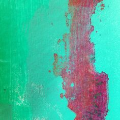 A close up of one of my favourite recent Gelli prints.
