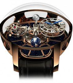 El Complejo Reloj Astronomia Gravitational Triple Axis Tourbillon Es La Última Joya De Jacob & Co.