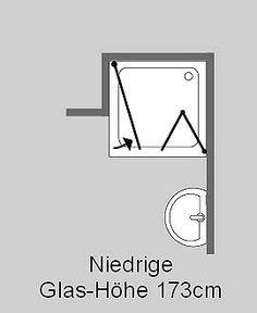 FKiS, Eck Falt-Dusche mit 2 Türen, Klarglas, Chrom, H=173cm