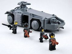 """"""" Colonial Marines' APC from Aliens » brothers-brick """""""