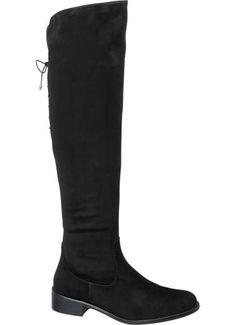 42f1c0ef46 Kozačky nad kolena značky Graceland v barvě černá - deichmann.com.  GracelandBoty ...