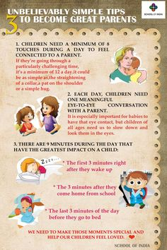 3 3 3 minutes with your kids