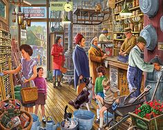 The Hardware Store - 550 Piece Puzzle-White Mountain Puzzles
