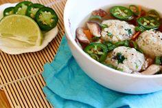 Mushroom Matzo Ball Soup by What Jew Wanna Eat