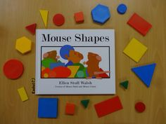 """A few activities set up to assess the children's knowledge of shapes (in an Early Years classroom) - from Rachel ("""",) Preschool Color Theme, Preschool Set Up, Math For Kids, Preschool Shapes, Kindergarten Assessment, In Kindergarten, Geometry Book, Math Literature, Mouse Paint"""