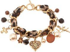 Bracelet - Leopard style - Bijou Brigitte Online Shop NL