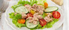 Ensalada de pepino y atún - Cocina y Vino