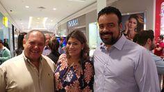 Com Zuza da Boutique Z e Fernanda Waibel do blog Inside of Style na inauguração da joalheria Pandora no JundiaíShopping