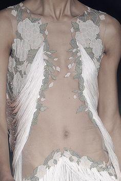 Detail at Alexander McQueen | Spring 2009.