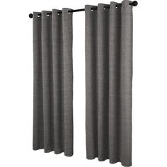 "Beachcrest Home Plant City Solid Blackout Thermal Grommet Curtain Panels Size: 54"" W x 84"" L, Color: Taupe"