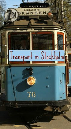 From the high-end Arlanda express to the cute old-fashioned tram around the Skansen Open Air museum. Click on the pin to discover what a city trip to Stockholm is all about!
