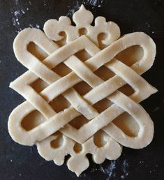 Food History Jottings: celtic pie dough - baking inspiration