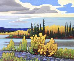 Nicholas Bott Art In The Park, Canadian Art, Canadian Artists, Todo Art, Mini Canvas Art, Mountain Art, Van Gogh Art, Artwork Painting, Landscape Drawings