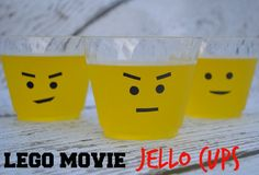 LEGO Movie Jello Cups
