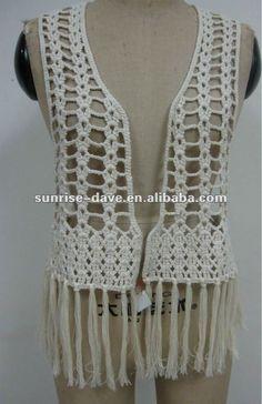 10 Hermosos chalecos tejidos a crochet (7)