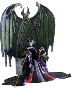 Sleeping Beauty-Maleficent & Diablo (2012 Numbered Limited Edition) - Sinister Sorceress