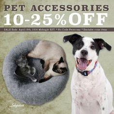 Adorable Pet Accessories: www.lalapatoot.com 10-25%OFF SALE Till 4/18/16 No code necessary. #petcare   #petaccessories   #petlove   #pets   #pet   #dogs   #cats   #cat   #dog   #petbeds   #catbeds   #dogbeds   #birdhouse   #sale   #promotion   #dogcollars   #catcollars