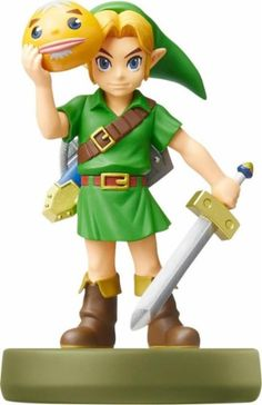 Nintendo - amiibo Figure (The Legend of Zelda: Link - Majora's Mask) - Front Zoom