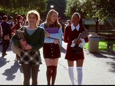 Love the sheer white blouse(worn by Alicia Silverstone in Clueless ...