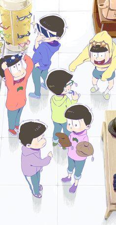 The Matsuno Bros Me Me Me Anime, Anime Guys, Onii San, Kaito Shion, Comedy Anime, Another Anime, Ichimatsu, Comic Page, Funny Love
