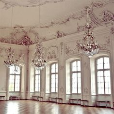 Is it too much to have a ballroom?  Maybe if I have a little girl, this can be the room in which she practices ballet. ;)