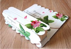 Bylinkový / Zboží prodejce pavla.wagnerova | Fler.cz Craft Stick Projects, Craft Stick Crafts, Decor Crafts, Diy And Crafts, Kids Crafts, Lolly Stick Craft, Popsicle Stick Houses, Popsicle Stick Crafts, Spring Crafts For Kids