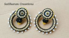 Quilling Ramleela earrings