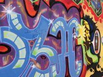 graffiti-outside-Amoeba Music, San Francisco photo gallery